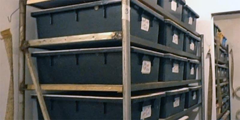 разведение в ящиках